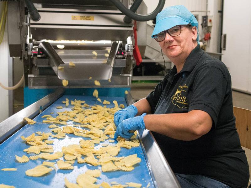Hannie van Boerderij Chips