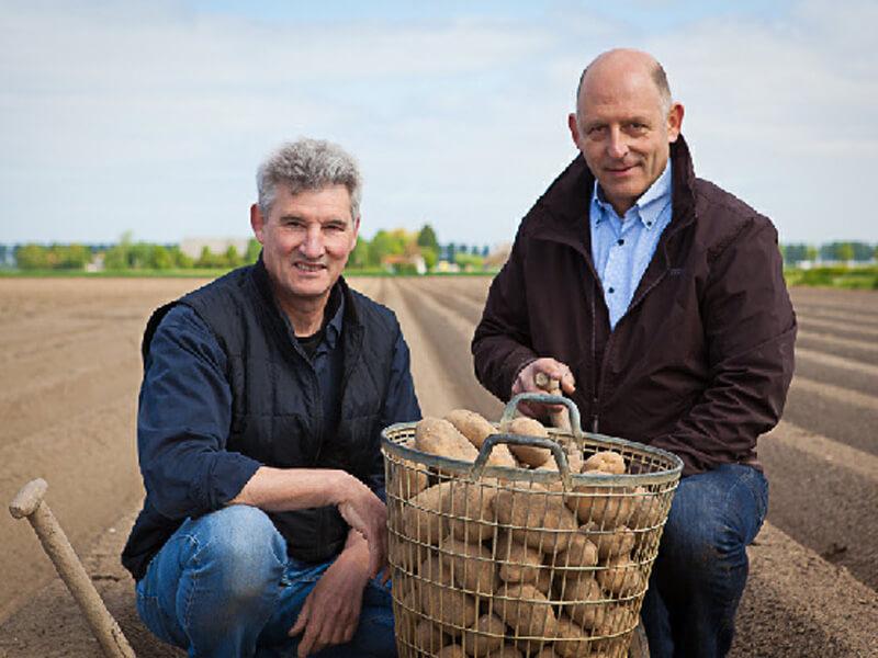 Henk en Rene van Boerderij Chips
