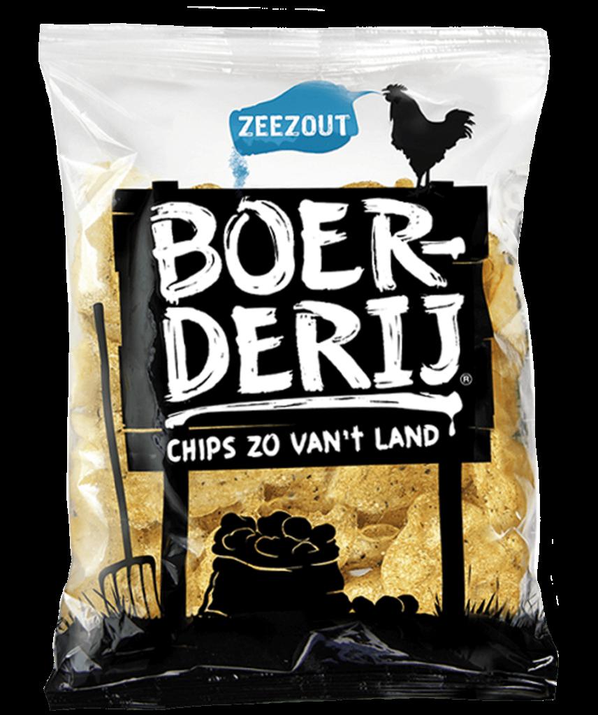 Boerderij Chips Zeezout